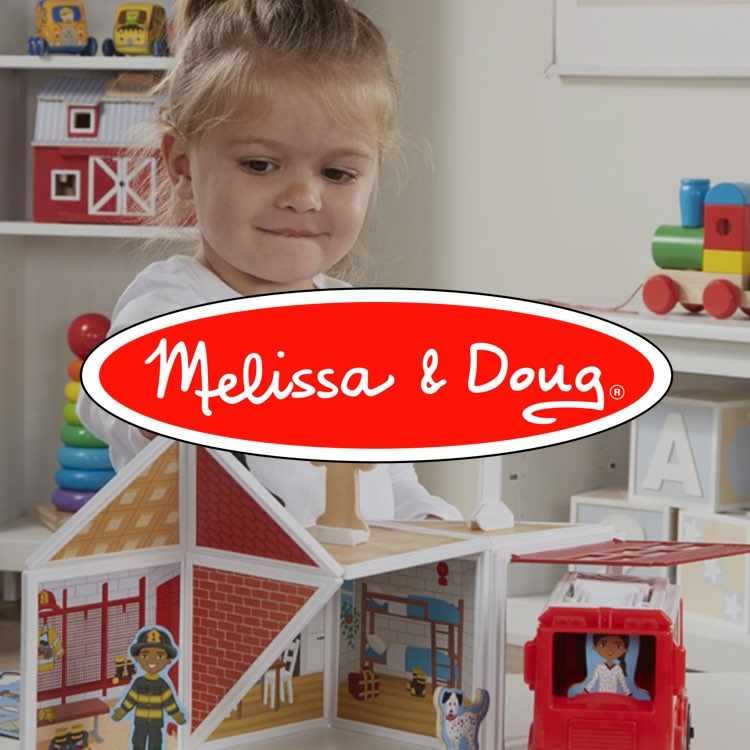 More about Melissa and Doug toys at Redbud