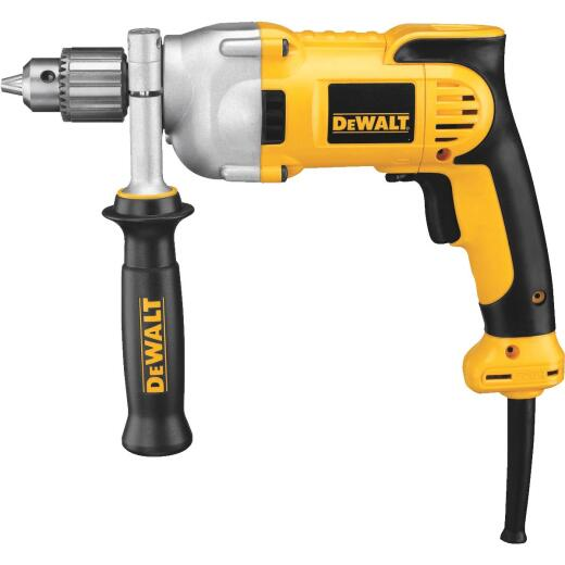 DeWalt 1/2 In. 10-Amp Keyed Electric Drill with Pistol Grip